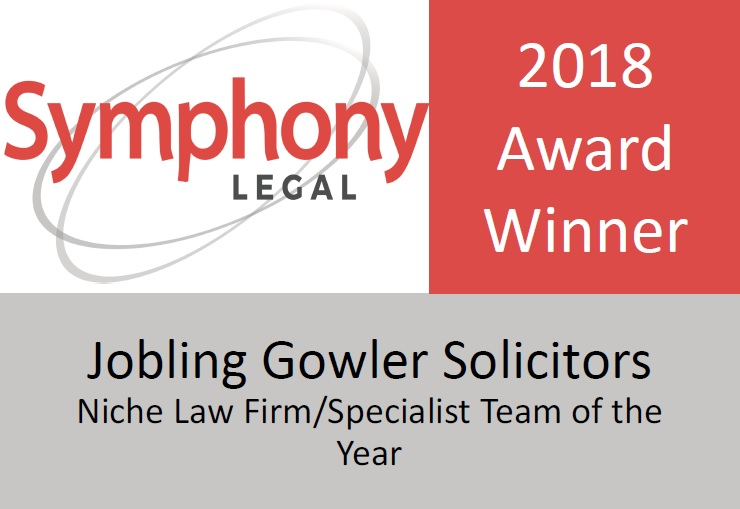 Symphony Legal 2018 Winner