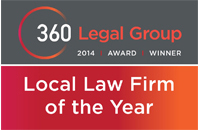 360 Legal Group  Local Law Firm of the year